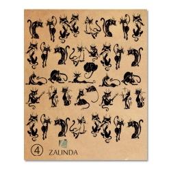 004 Черные кошки