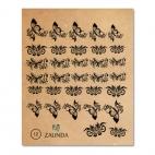012 Бабочки и цветы