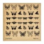141 Бабочки и узоры