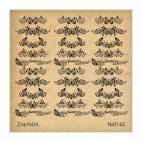 143 Бабочки и узоры