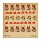 212 Акварельные лисы и маки