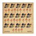 230 Котики и тюльпаны