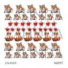 0097 Влюбленная лисичка
