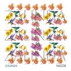 0238 Колибри и цветы