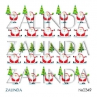 0349 Дед морозы и елки