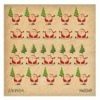 349 Дед морозы и елки