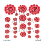 0442 Хохломские цветы
